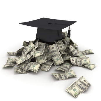 For a business, what is the tax law for the deductible graduate school tuition costs?