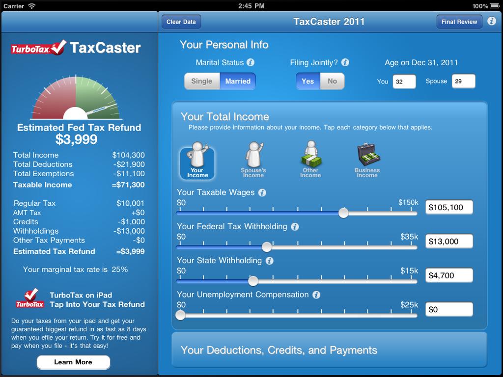taxcaster-ipad-screen1