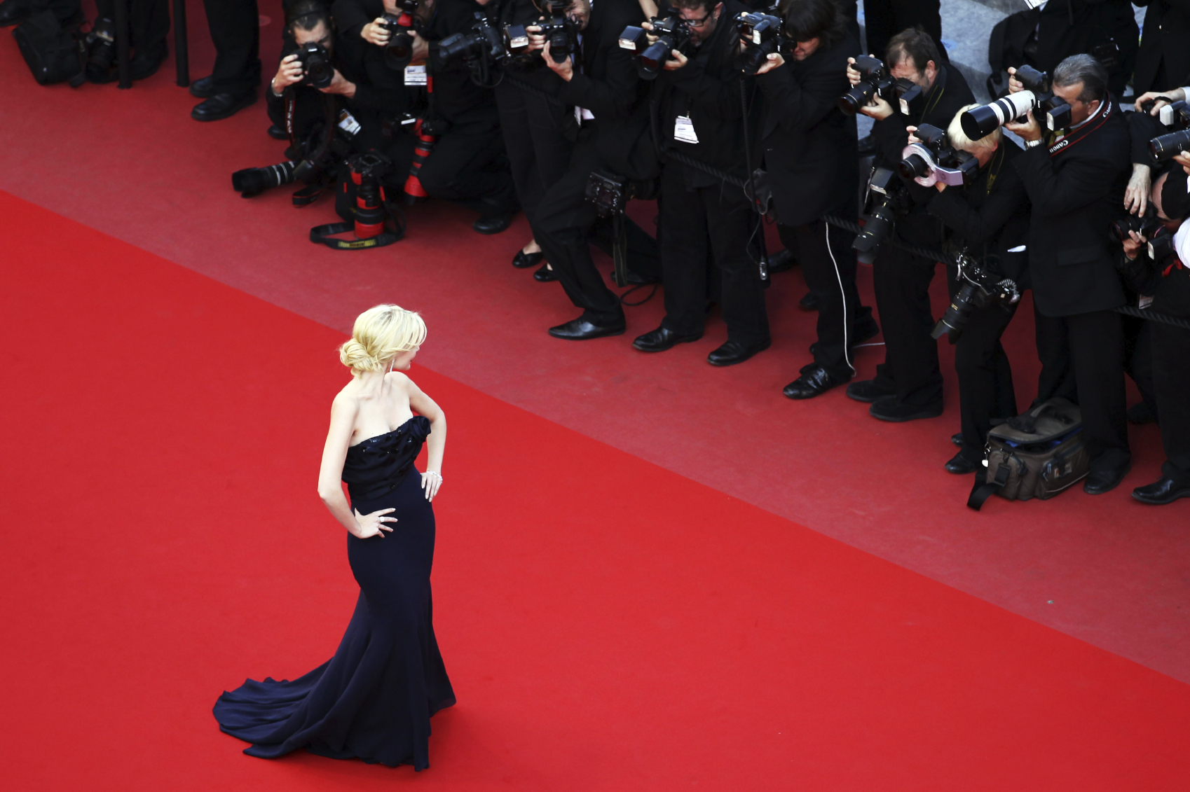 "CANNES, FRANCE - MAY 17:  Actress Helena Mattsson attends ""Biutiful"" Premiere at the Palais des Festivals during the 63rd Annual Cannes Film Festival on May 17, 2010 in Cannes, France.  (Photo by Andreas Rentz/Getty Images)"