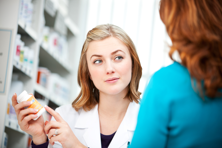 Pharmacy: Advising a Customer on Over the Counter Medicine