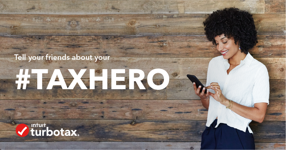 Sweepstakes: Your #TaxHero Is Ready When You Need It