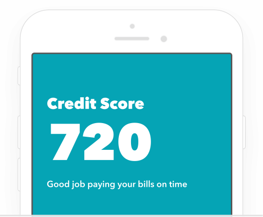 Credit Score 720. Good job paying your bills on time